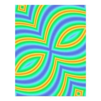 Abstract Multicolored Pattern Full Color Flyer