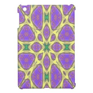 Abstract multicolored pattern iPad mini cover