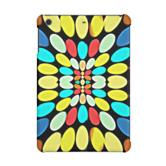 Abstract Multicolored Petals Pattern iPad Mini Cases