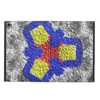 Abstract multicolored texture pattern