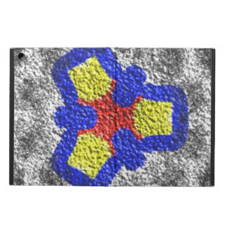 Abstract multicolored texture pattern case for iPad air