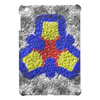 Abstract multicolored texture pattern iPad mini covers