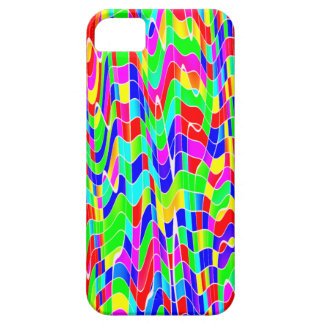 Abstract multicolour barely there iPhone 5 case