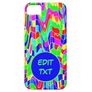 Abstract multicolour case for the iPhone 5