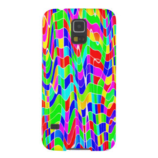 Abstract multicolour galaxy s5 cover