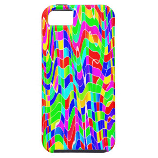 Abstract multicolour iPhone 5 cases