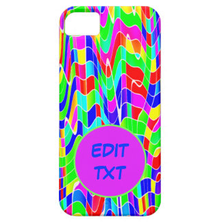Abstract multicolour iPhone 5 cover
