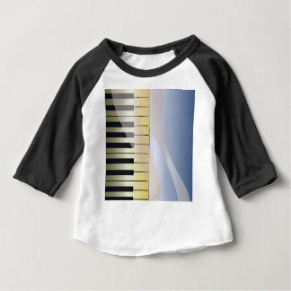 Abstract Music Background Baby T-Shirt
