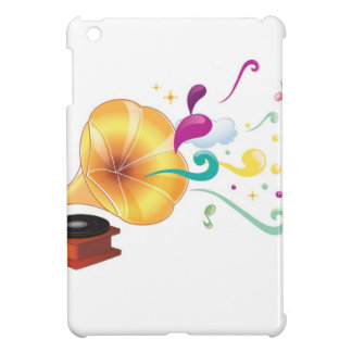 Abstract music graphic iPad mini case