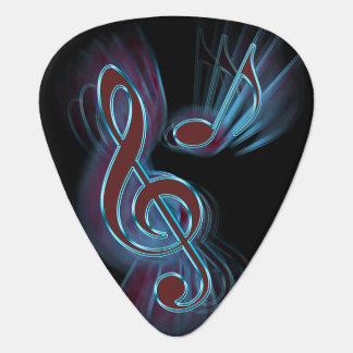 Abstract music. plectrum