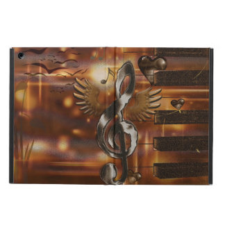 Abstract music symbol iPad air case