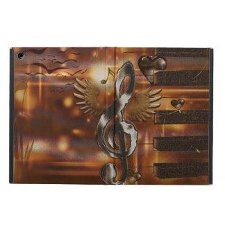 Abstract music symbol iPad air case