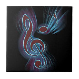 Abstract music. tile