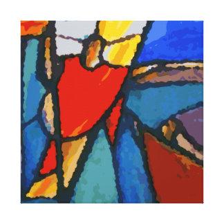Abstract Nativity Canvas Print