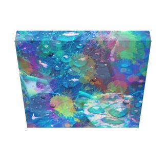 Abstract nature colour burst canvas print