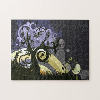 Abstract Nature Design Jigsaw Puzzle
