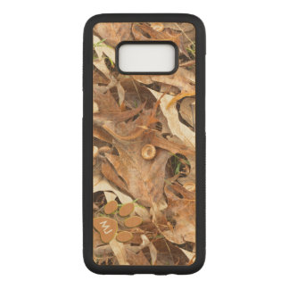 : Abstract Nature Picture Autumn Camo Carved Samsung Galaxy S8 Case