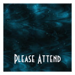 Abstract Nebula Texture - Blue Announcements