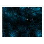 Abstract Nebula Texture - Blue Post Card