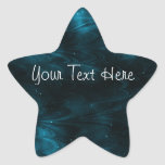 Abstract Nebula Texture - Blue Stickers