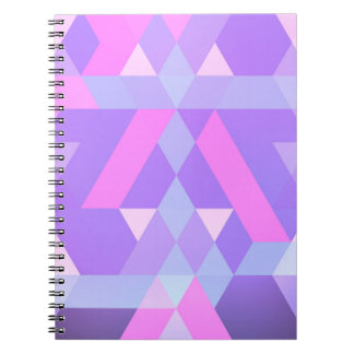 Abstract notebook pink