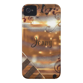 Abstract notes Case-Mate iPhone 4 case