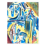 Abstract Number 35C29 Post Cards