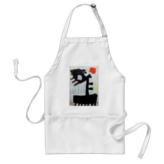 Abstract o-11 by Piliero Adult Apron