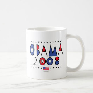 Abstract Obama 2008 Classic White Coffee Mug