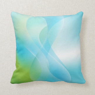 Abstract Ocean American MoJo Pillow