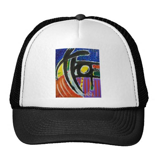 Abstract Oct 11-9 Mesh Hats