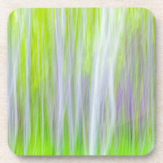 Abstract of Aspen Trees | Yakima River Trail, WA Coaster