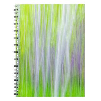 Abstract of Aspen Trees | Yakima River Trail, WA Notebooks