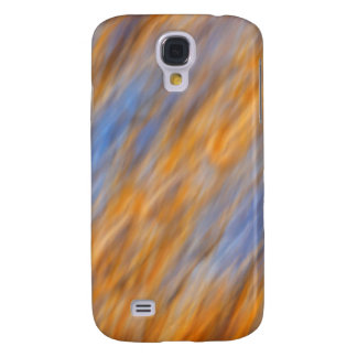 Abstract of autumn leaves and sky galaxy s4 case