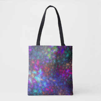Abstract of color tote bag