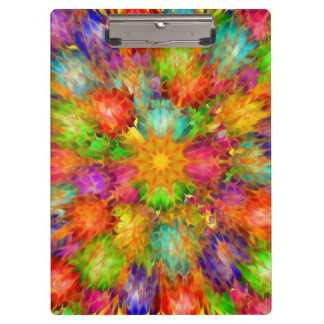 Abstract of Colors Clipboard