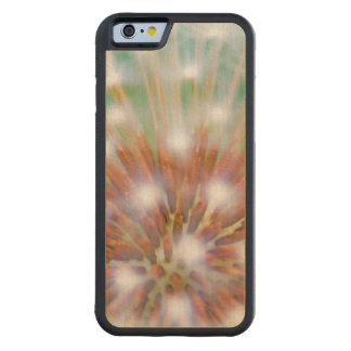 Abstract of dandelion seed head maple iPhone 6 bumper
