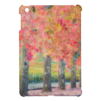 Abstract of Napa Valley trees iPad Mini Cases