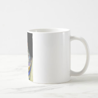 Abstract of Southwold Lighthouse Coffee Mug