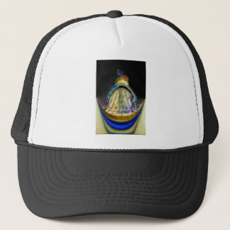Abstract of Southwold Lighthouse Trucker Hat