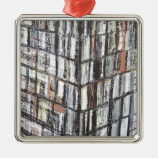Abstract Office Building (abstract architecture) Christmas Tree Ornament