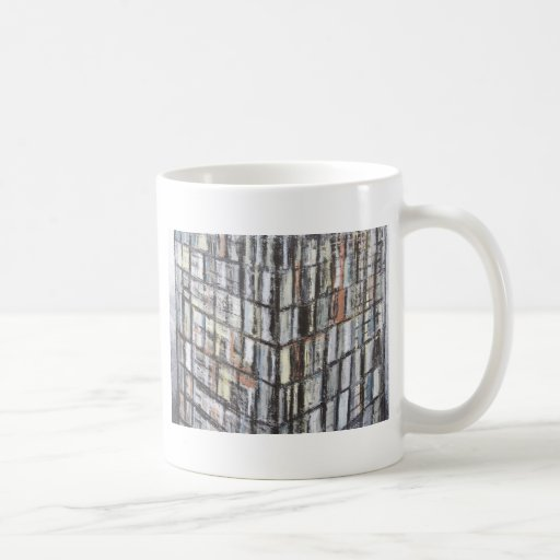 Abstract Office Building (abstract architecture) Coffee Mug