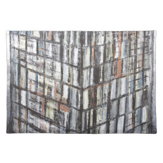 Abstract Office Building (abstract architecture) Place Mat