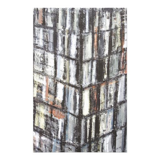 Abstract Office Building (abstract architecture) Stationery Paper