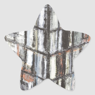 Abstract Office Building abstract architecture Star Stickers