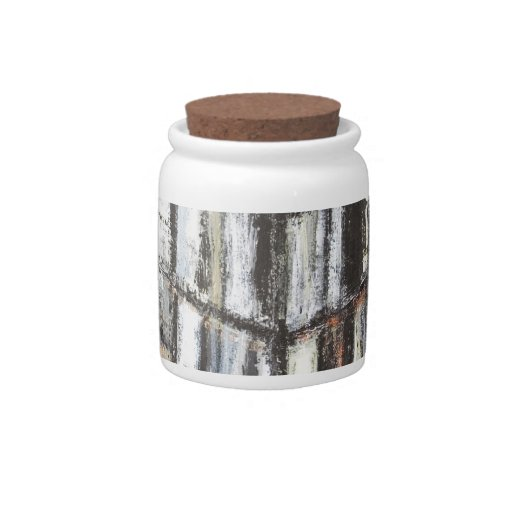 Abstract Office Building (abstract architecture) Candy Dish