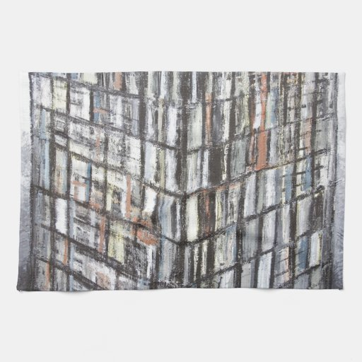 Abstract Office Building (abstract architecture) Towels
