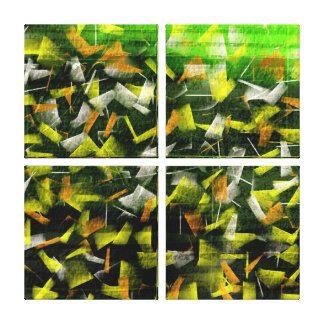 Abstract Oil & Acrylic Painting 2 Stretched Canvas Prints