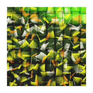 Abstract Oil & Acrylic Painting 4 Canvas Print