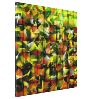 Abstract Oil & Acrylic Painting 5 Gallery Wrap Canvas